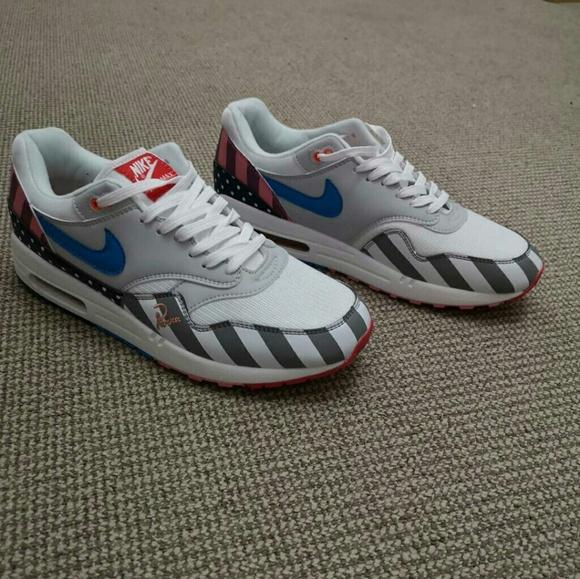 c185609e9be5  SALE  Nike Air Max 1 Parra mens 10 w OG Box